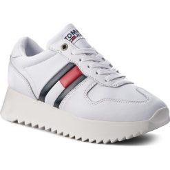 Sneakersy TOMMY JEANS - High Cleated Sneaker EN0EN00288 Rwb 020. Białe sneakersy damskie Tommy Jeans, z jeansu. Za 449,00 zł.