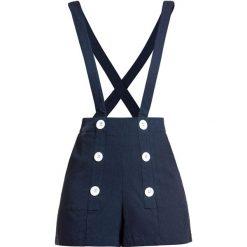 Voodoo Vixen Daisy Nautical Shorts with Braces Krótkie spodenki damskie granatowy. Niebieskie szorty damskie Voodoo Vixen. Za 199,90 zł.
