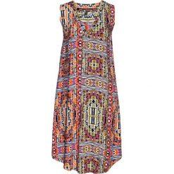 Sukienki: Sukienka z wiskozy bonprix khaki z nadrukiem