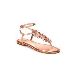 Sandały MICHAEL Michael Kors  BELLA TONG. Czarne sandały trekkingowe damskie marki MICHAEL Michael Kors, z gumy, przed kolano, na wysokim obcasie. Za 589,00 zł.