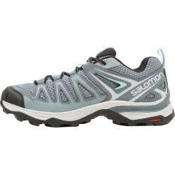 Salomon X ULTRA 3 PRIME  Obuwie hikingowe lead/stormy weather/canal blue. Szare buty sportowe damskie Salomon, z materiału, outdoorowe. Za 439,00 zł.