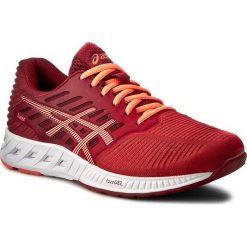 Buty ASICS - FuzeX T689N Ot Red/Flash Coral/True Red 2306. Czerwone buty do biegania damskie Asics, z materiału, asics fuzex. W wyprzedaży za 349,00 zł.