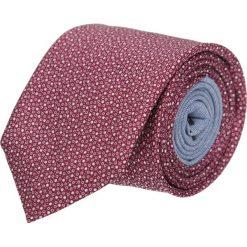 Krawat winman bordo classic 201. Białe krawaty męskie Recman, z aplikacjami, z bawełny, klasyczne. Za 129,00 zł.