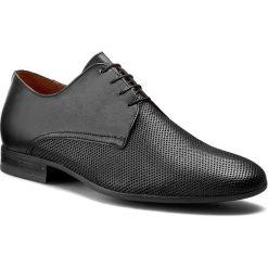 Półbuty GINO ROSSI - Porfirio MPV667-502-5J00-9900-0 99. Czarne buty wizytowe męskie Gino Rossi, z materiału. W wyprzedaży za 239,00 zł.