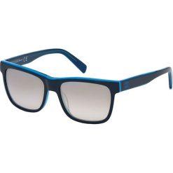"""Okulary przeciwsłoneczne damskie aviatory: Okulary przeciwsłoneczne """"JC641S 95C"""" w kolorze granatowo-niebieskim"""