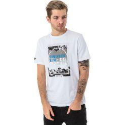 4f Koszulka męska H4L18-TSM011 biała r. L. Białe koszulki sportowe męskie marki 4f, l. Za 36,00 zł.