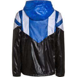 Adidas Originals Kurtka sportowa black/blue/white. Czarne kurtki dziewczęce adidas Originals, z materiału. W wyprzedaży za 239,20 zł.