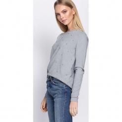 Szary Sweter Fast Drive. Szare swetry klasyczne damskie Born2be, na jesień, l. Za 59,99 zł.