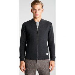 Swetry rozpinane męskie: Pier One Kardigan black melange