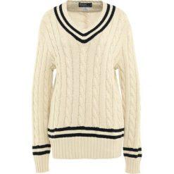 Swetry klasyczne damskie: Polo Ralph Lauren Sweter cream/black