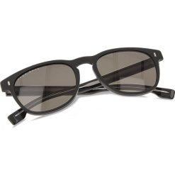 Okulary przeciwsłoneczne BOSS - 0927/S Matt Black 003. Czarne okulary przeciwsłoneczne damskie lenonki marki Boss, z tworzywa sztucznego. W wyprzedaży za 489,00 zł.