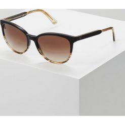 Emporio Armani Okulary przeciwsłoneczne brown/beige. Brązowe okulary przeciwsłoneczne damskie aviatory Emporio Armani. Za 529,00 zł.