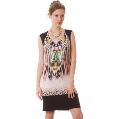 Sukienki hiszpanki: Sukienka w kolorze czarno-fioletowym