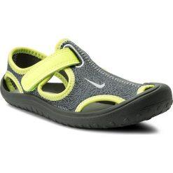 Sandały NIKE - Sunray Protect (PS) 903631 002 Dark Grey/Wolf Grey-Volt. Szare sandały męskie skórzane marki Nike. Za 119,00 zł.