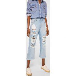 Mango - Jeansy Bella. Niebieskie jeansy damskie relaxed fit marki Reserved. Za 199,90 zł.