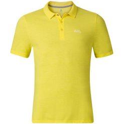 Odlo Koszulka męska Polo shirt s/s TRIM żółta r. L (525922/50019). Żółte koszulki polo marki Odlo, l. Za 129,95 zł.