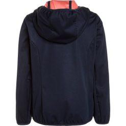 CMP Kurtka Softshell black blue. Niebieskie kurtki damskie softshell marki CMP, z materiału. W wyprzedaży za 181,30 zł.