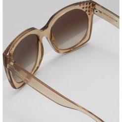 Michael Kors DESTIN Okulary przeciwsłoneczne light brown crystal. Brązowe okulary przeciwsłoneczne damskie lenonki marki Michael Kors. Za 589,00 zł.
