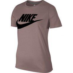 Koszulka Nike Wmns NSW Essential Top HBR (829747-259). Szare bluzki asymetryczne Nike, z bawełny. Za 139,99 zł.