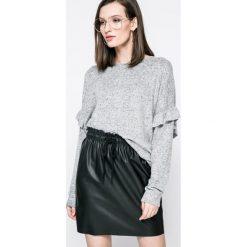 Fresh Made - Sweter. Niebieskie swetry klasyczne damskie marki DOMYOS, z elastanu, street, z okrągłym kołnierzem. W wyprzedaży za 59,90 zł.