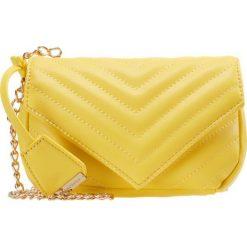 Torebki klasyczne damskie: Glamorous Torba na ramię yellow