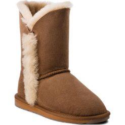 Buty EMU AUSTRALIA - Kolora Lo W11903 Chestnut. Brązowe buty zimowe damskie marki EMU Australia, ze skóry. Za 649,00 zł.