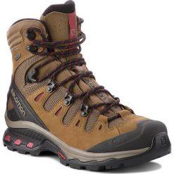 Trekkingi SALOMON - Quest 4D 3 Gtx W GORE-TEX 402458 20 G0 Teak/Teak/Tibetan Red. Brązowe buty trekkingowe damskie Salomon. Za 899,00 zł.