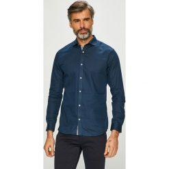 Jack & Jones - Koszula. Czarne koszule męskie na spinki marki Jack & Jones, l, z bawełny, z klasycznym kołnierzykiem, z długim rękawem. Za 179,90 zł.