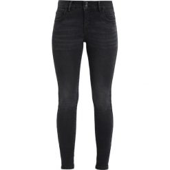 Vero Moda VMELLI BUTTON  Jeans Skinny Fit black. Czarne rurki damskie Vero Moda. Za 169,00 zł.