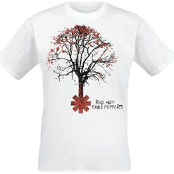 Red Hot Chili Peppers Higher Ground T-Shirt biały. Czarne t-shirty męskie marki Caliban, s. Za 74,90 zł.
