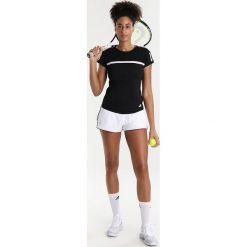 Adidas Performance CLUB TEE Tshirt z nadrukiem black. Czarne t-shirty damskie adidas Performance, s, z nadrukiem, z materiału. Za 159,00 zł.