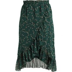Spódniczki trapezowe: YAS YASGRACE SKIRT Spódnica trapezowa hunter green