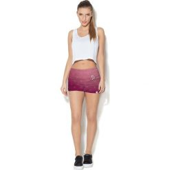 Colour Pleasure Spodnie damskie CP-020 256 różowe r. 3XL/4XL. Czerwone spodnie sportowe damskie marki Colour pleasure, xl. Za 72,34 zł.