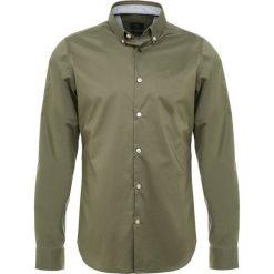 Bogner TIMI SLIM FIT Koszula khaki. Szare koszule męskie slim marki Bogner, m, z nadrukiem, z bawełny. Za 419,00 zł.
