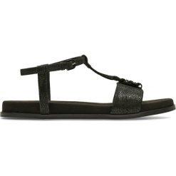 Rzymianki damskie: Sandały skórzane płaskie Agean Cool