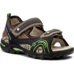 Sandały BARTEK - 16113-272 Ocean/Stone. Brązowe sandały męskie skórzane marki Bartek. W wyprzedaży za 169,00 zł.