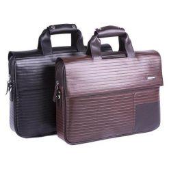 Torba Verus Teczka na laptopa skórzana brązowa marki Verus. Brązowe torby na laptopa marki VERUS. Za 833,29 zł.