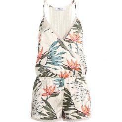 Piżamy damskie: Etam LIAM COMBISHORT Piżama ecru
