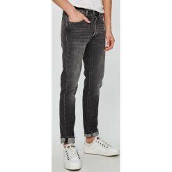 Levi's - Jeansy 501. Brązowe rurki męskie Levi's®, z bawełny. W wyprzedaży za 259,90 zł.