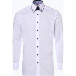 Finshley & Harding - Koszula męska, czarny. Czarne koszule męskie na spinki Finshley & Harding, l, z bawełny, z podwójnym kołnierzykiem. Za 99,95 zł.