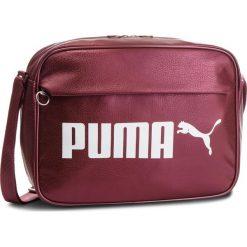 Torba PUMA - Campus Reporter 075005 05 Pomegranate/Metallic. Czerwone torebki klasyczne damskie Puma, ze skóry ekologicznej. Za 169,00 zł.