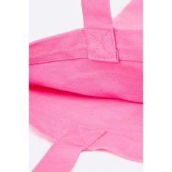 Pieces - Torebka Dorris. Różowe torebki klasyczne damskie Pieces, z bawełny, duże. W wyprzedaży za 24,90 zł.