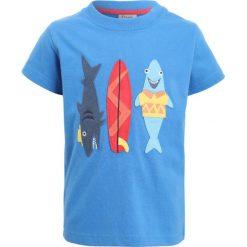 T-shirty chłopięce z nadrukiem: Frugi KIDS ZGREEN STANLEY APPLIQUE  Tshirt z nadrukiem sail blue