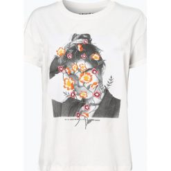 Review - T-shirt damski, czerwony. Szare t-shirty damskie marki Review, l, z tkaniny, z okrągłym kołnierzem. Za 69,95 zł.