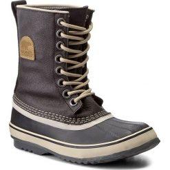 Śniegowce SOREL - 1964 Premium Cvs NL1717 Black/Fossil 010. Czarne buty zimowe damskie Sorel, z gumy. Za 569,99 zł.