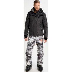 Superdry SNOW SDWINDBOMBER Kurtka snowboardowa black grit. Czarne kurtki narciarskie męskie Superdry, m, z materiału. W wyprzedaży za 879,20 zł.