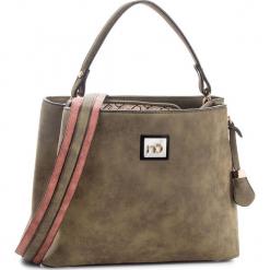Torebka NOBO - NBAG-F0250-C008 Khaki. Zielone torebki klasyczne damskie marki Nobo, ze skóry ekologicznej. W wyprzedaży za 149,00 zł.