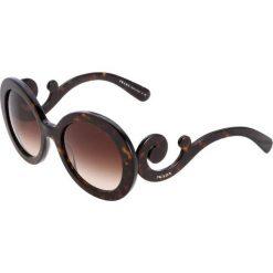 Prada Okulary przeciwsłoneczne braun. Brązowe okulary przeciwsłoneczne damskie aviatory Prada. Za 839,00 zł.