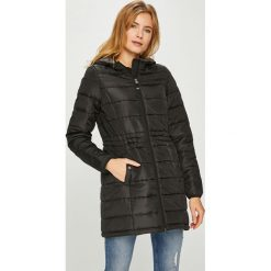 Vero Moda - Kurtka/płaszcz 10199013. Czarne płaszcze damskie pastelowe Vero Moda, l. W wyprzedaży za 139,90 zł.