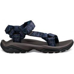 Teva Sandały Męskie Terra Fi 4, Rocio Blue 48.5. Niebieskie sandały męskie Teva, z tkaniny, z paskami. Za 445,00 zł.